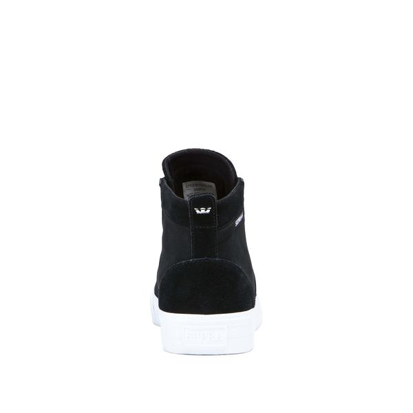 SUPRA STACKS MID BLACK/BLACK-WHITE 2
