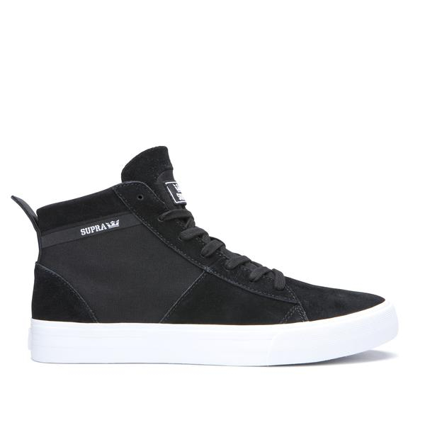 SUPRA STACKS MID BLACK/BLACK-WHITE 0
