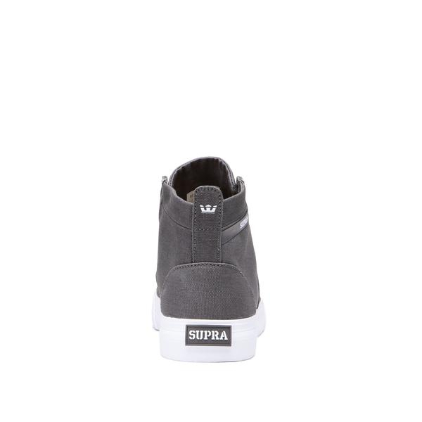 SUPRA STACKS MID GREY-WHITE 1