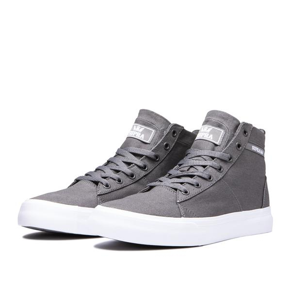 SUPRA STACKS MID GREY-WHITE 4
