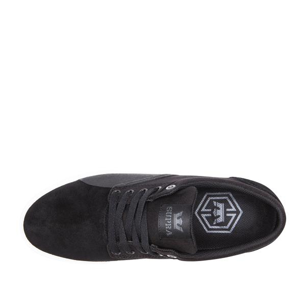 SUPRA CHINO BLACK/BLACK-WHITE 3