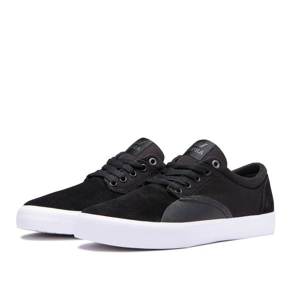 SUPRA CHINO BLACK/BLACK-WHITE 4