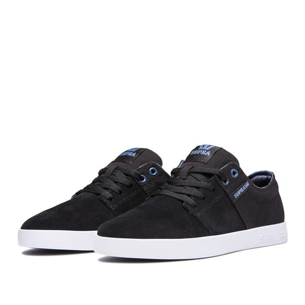 SUPRA STACKS II BLACK/BERING-WHITE 3