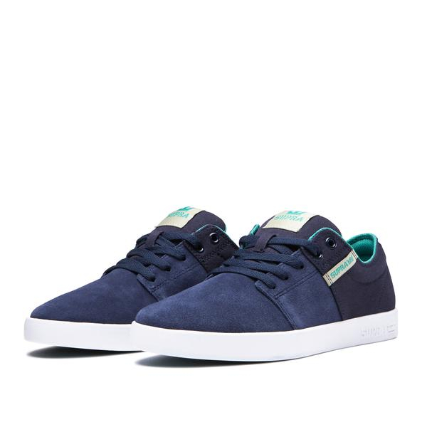 SUPRA STACKS II NAVY/STONE-WHITE 2