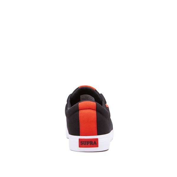 SUPRA STACKS VULC II BLACK/RISK RED-WHITE 3