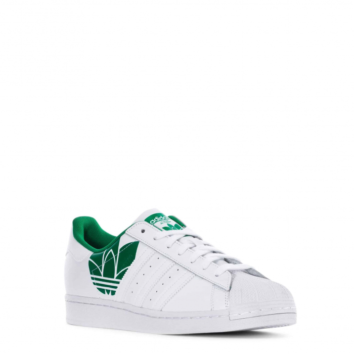ADIDAS Superstar Ftwwht / Ftwwht / Green 1
