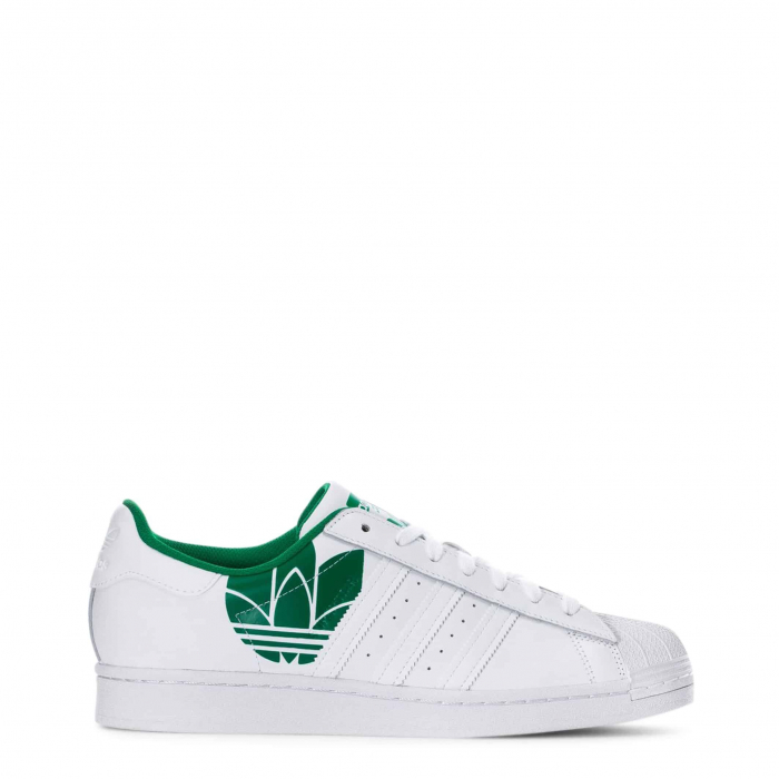 ADIDAS Superstar Ftwwht / Ftwwht / Green 0