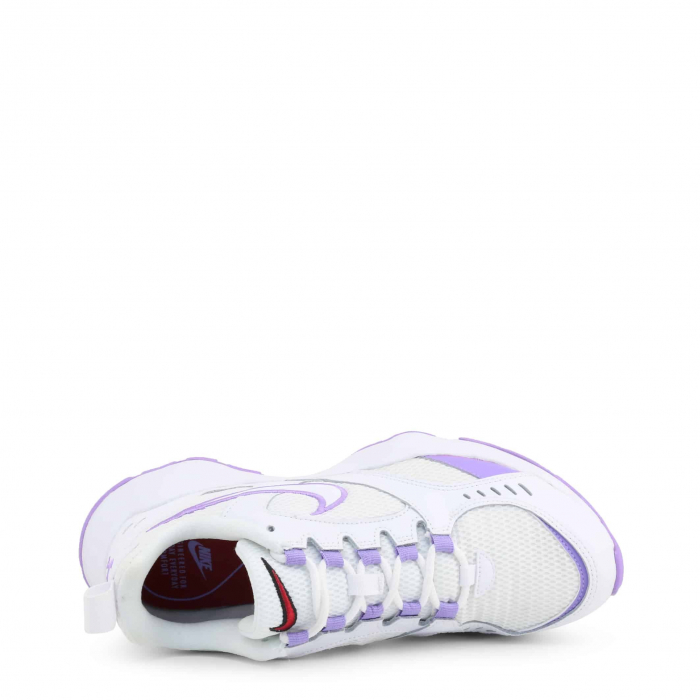 NIKE Air Heights White / Violet 2