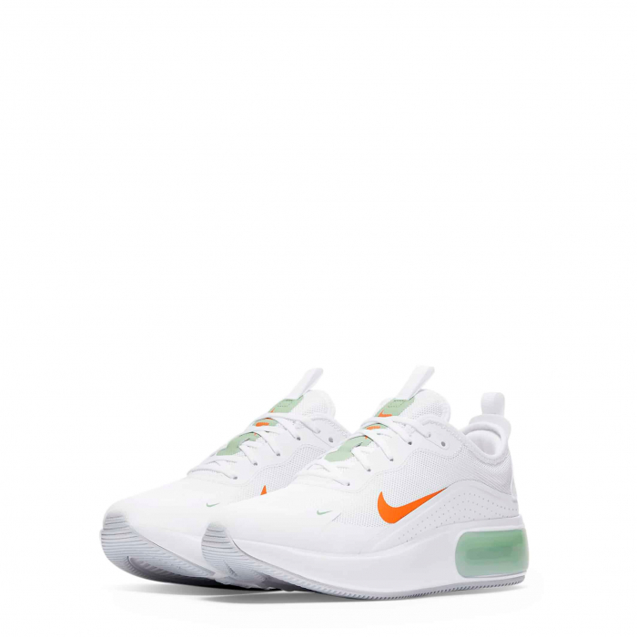 NIKE Air Max Dia White / Green / Orange 1