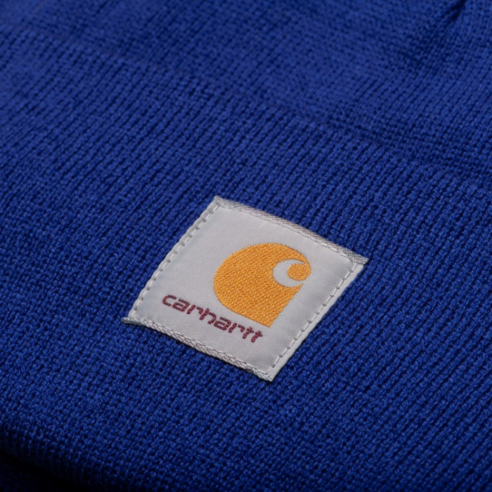 CARHARTT ACRYLIC WATCH HAT THUNDER BLUE 1