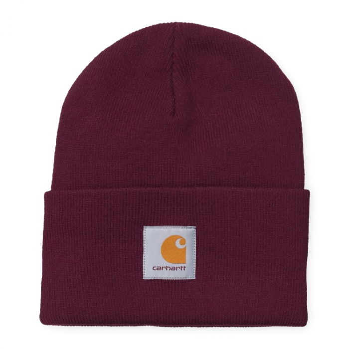 CARHARTT ACRYLIC WATCH HAT MERLOT 0