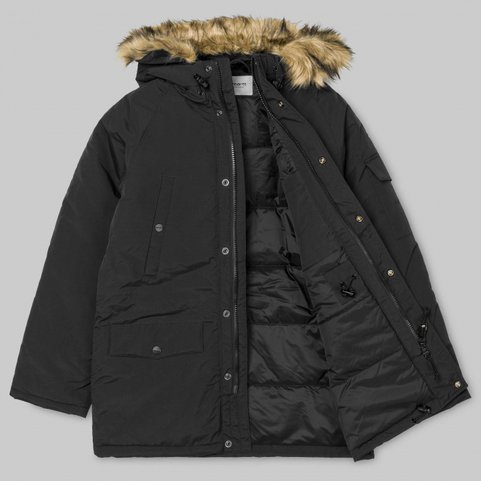 CARHARTT Anchorage Parka Black / Black 7