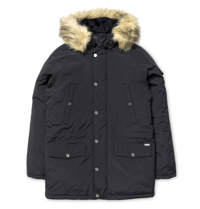 CARHARTT Anchorage Parka Black / Black 0