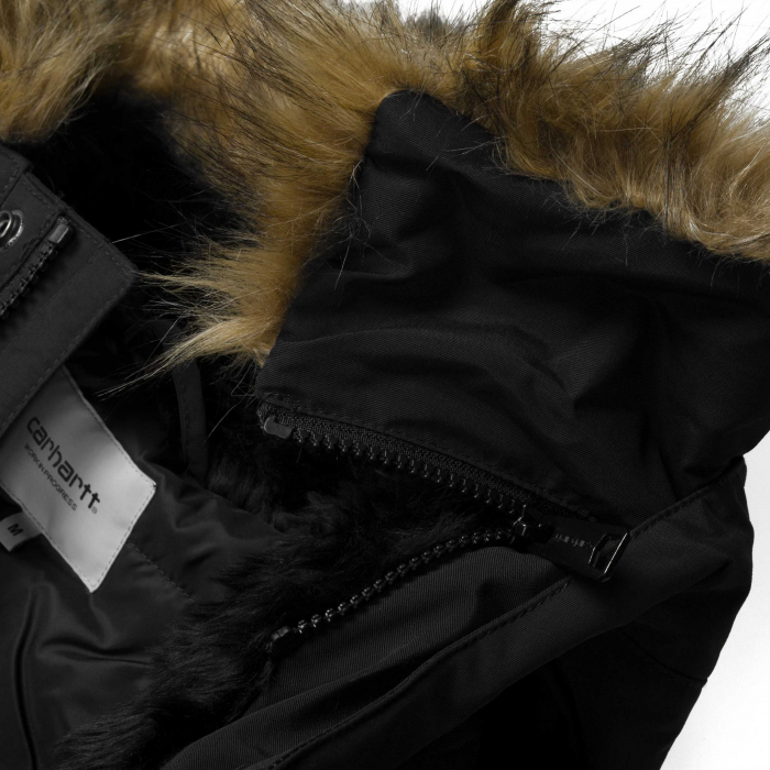 CARHARTT Anchorage Parka Black / Black 5