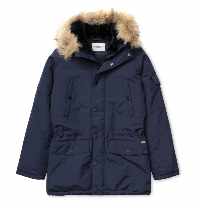 CARHARTT ANCHORAGE PARKA DARK NAVY / BLACK 0