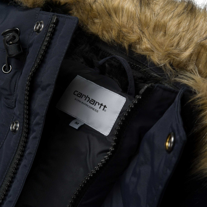 CARHARTT Anchorage Parka Dark Navy / Black 6