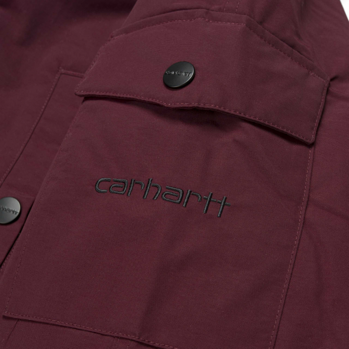 CARHARTT ANCHORAGE PARKA MULBERRY / BLACK 5