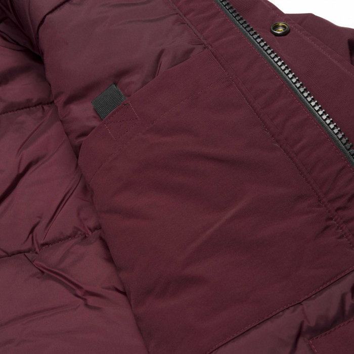 CARHARTT ANCHORAGE PARKA MULBERRY / BLACK 2