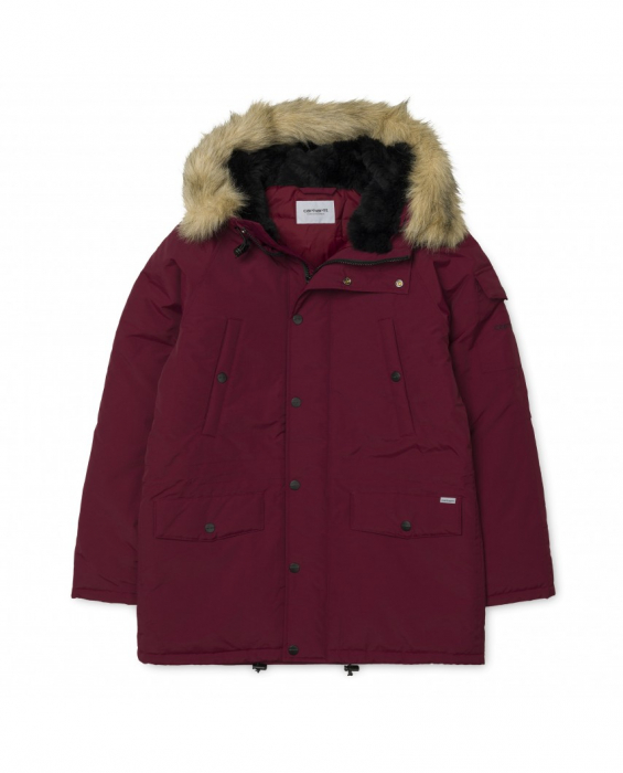 CARHARTT ANCHORAGE PARKA MULBERRY / BLACK 0