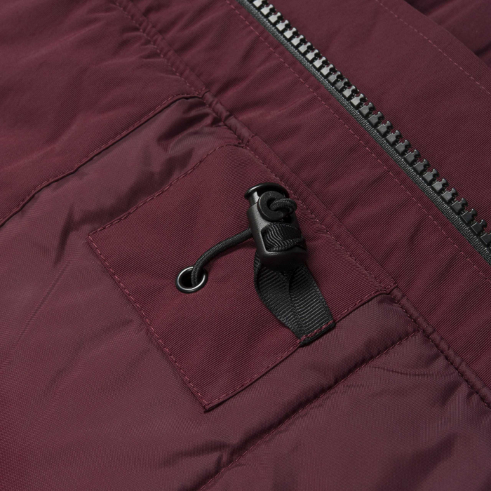 CARHARTT ANCHORAGE PARKA MULBERRY / BLACK 3