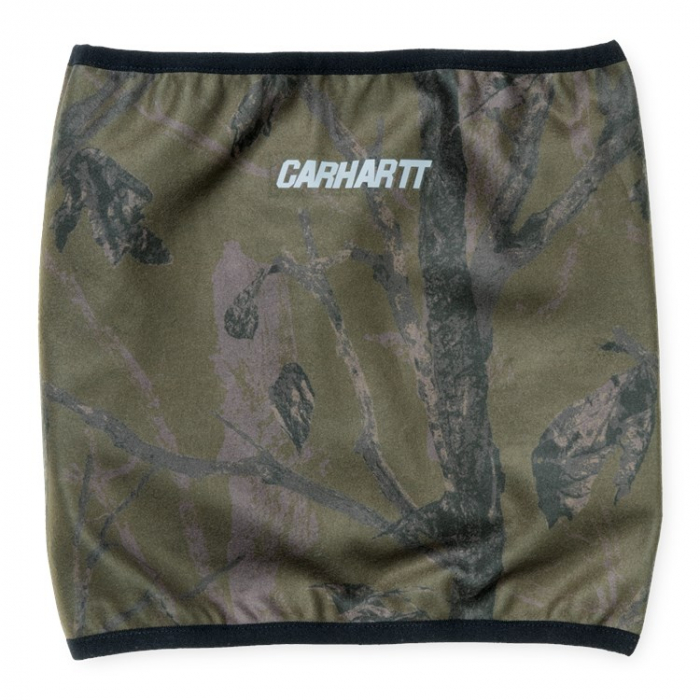 CARHARTT Beaufort Neckwarmer Camo Tree, Green / Reflective 0