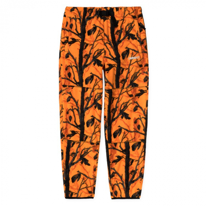 CARHARTT BEAUFORT SWEAT PANT CAMO TREE, ORANGE / REFLECTIVE GREY 0