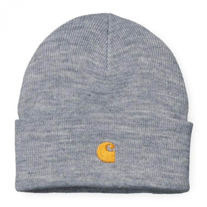 CARHARTT Chase Beanie Grey Heather / Gold 0