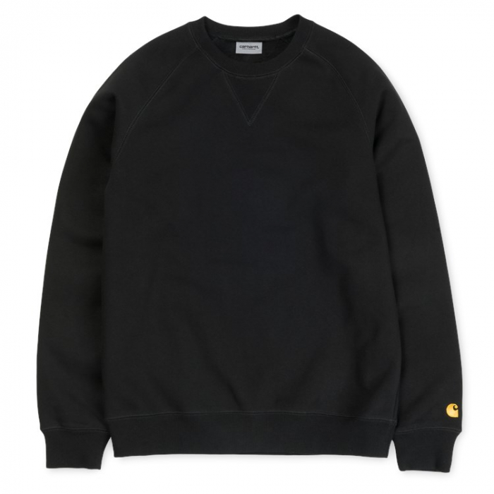 CARHARTT Chase Sweat Black / Gold 0