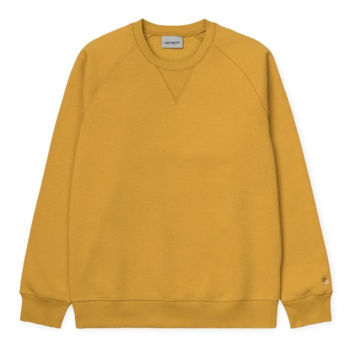 CARHARTT CHASE SWEAT COLZA / GOLD 0