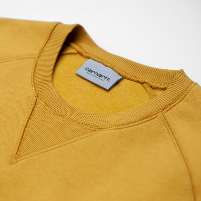 CARHARTT CHASE SWEAT COLZA / GOLD 1