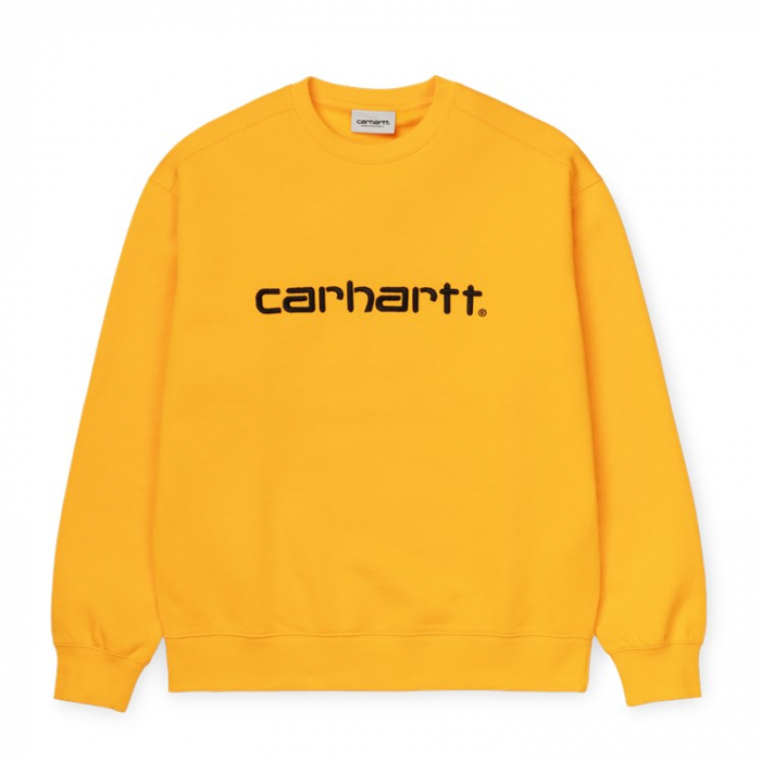 CARHARTT WOMEN CARHARTT SWEAT SUNFLOWER / BLACK 0