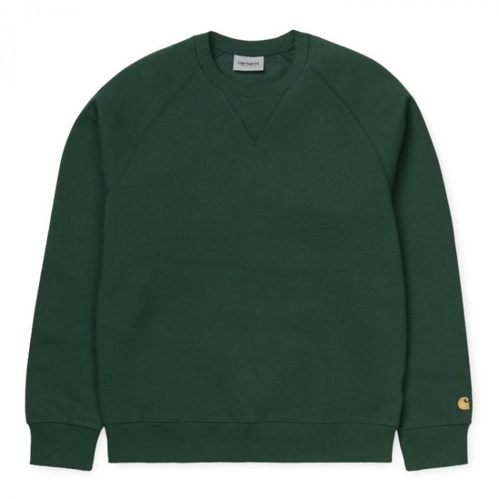 CARHARTT CHASE SWEAT TREEHOUSE / GOLD 0