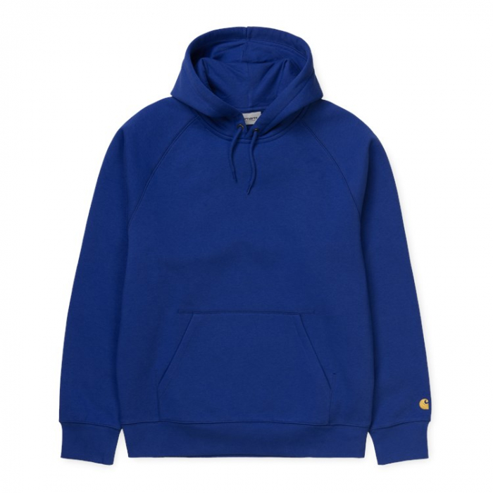 CARHARTT HOODED CHASE SWEAT SUBMARINE / GOLD 0