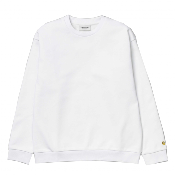 CARHARTT Chase Sweat White / Gold 0