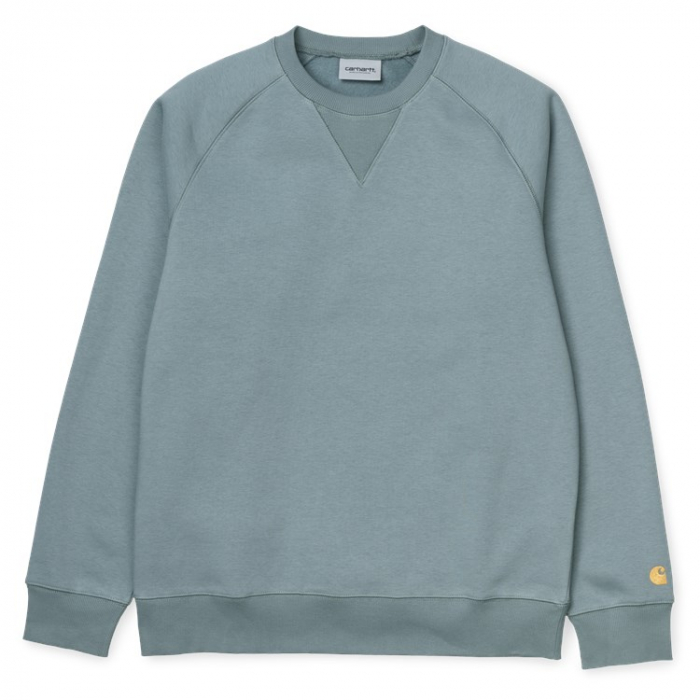 CARHARTT Chase Sweat Cloudy / Gold 0