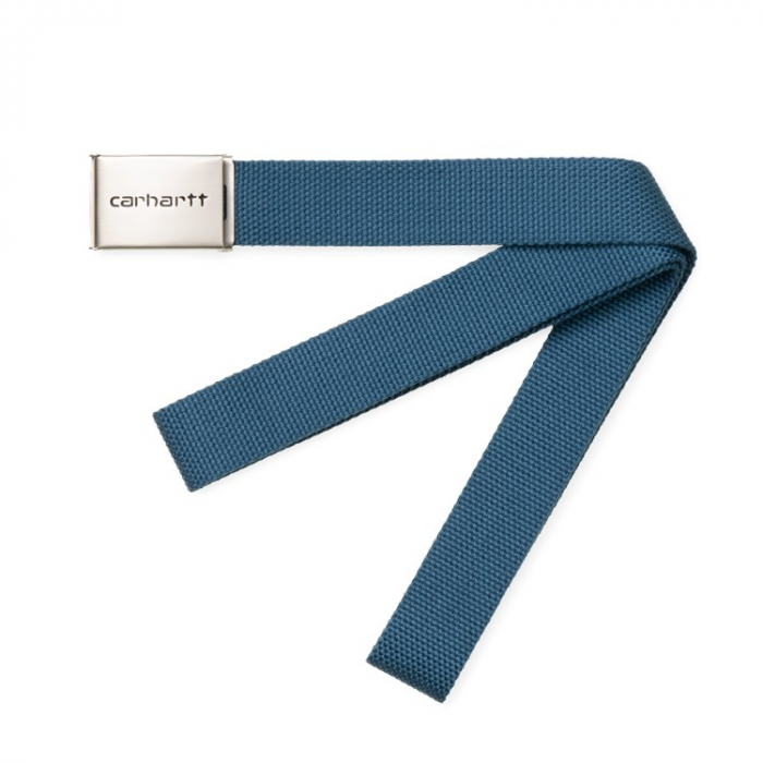 CARHARTT Clip Belt Chrome Prussian Blue 0