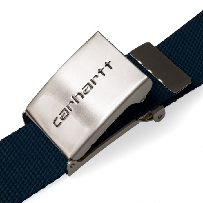 CARHARTT Clip Belt Chrome Dark Navy 2