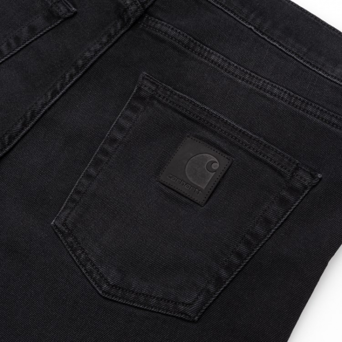 CARHARTT Rebel Pant Black mid worn wash 2