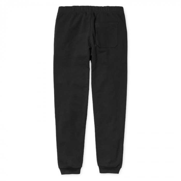 CARHARTT COLLEGE SWEAT PANT BLACK / WHITE 1