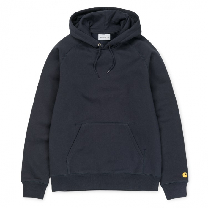 CARHARTT HOODED CHASE SWEAT DARK NAVY /GOLD 0