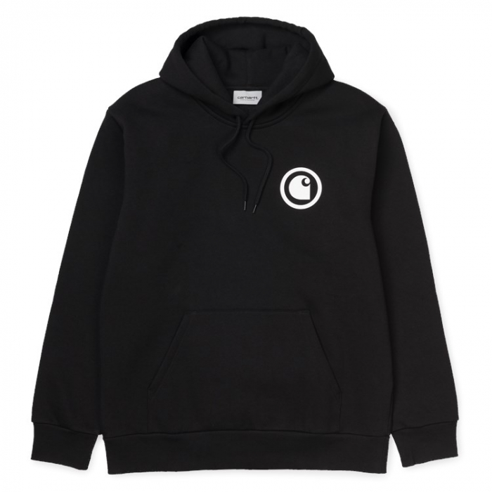 CARHARTT Hooded Protect Sweat Black / White 0