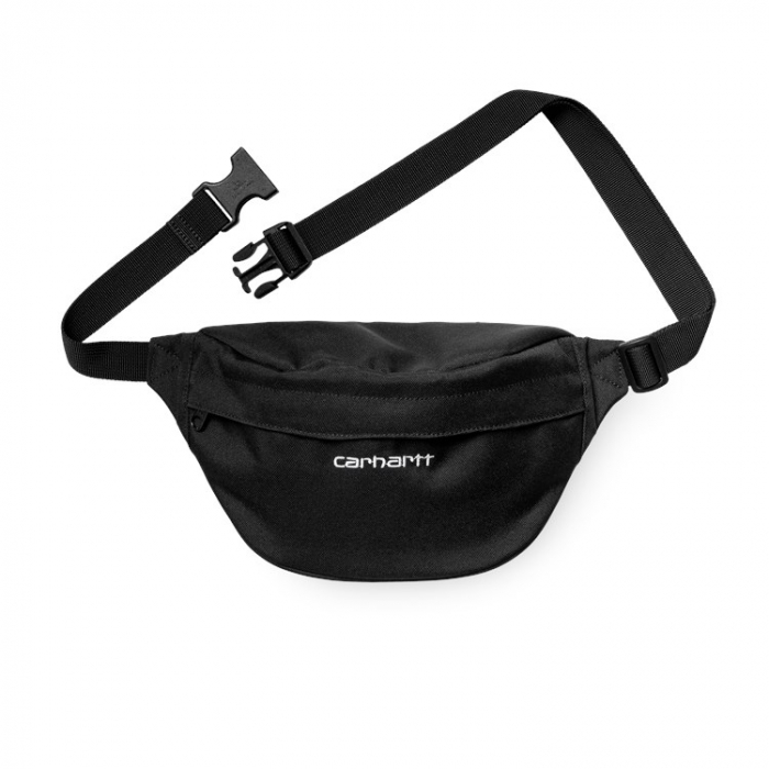 CARHARTT PAYTON HIP BAG BLACK/ WHITE 0
