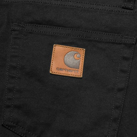 CARHARTT REBEL PANT DOUGLAS BLACK RINSED 2