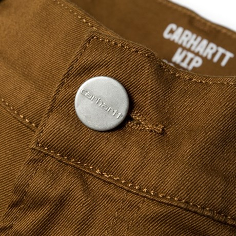 CARHARTT REBEL PANT DOUGLAS HAMILTON BROWN RINSED 1