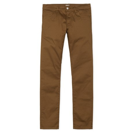 CARHARTT REBEL PANT DOUGLAS HAMILTON BROWN RINSED 0