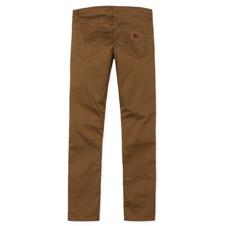 CARHARTT REBEL PANT DOUGLAS HAMILTON BROWN RINSED 3