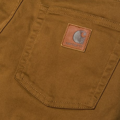 CARHARTT REBEL PANT DOUGLAS HAMILTON BROWN RINSED 2