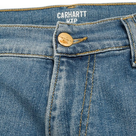 CARHARTT REBEL PANT SPICER BLUE COAST BLEACHED 1