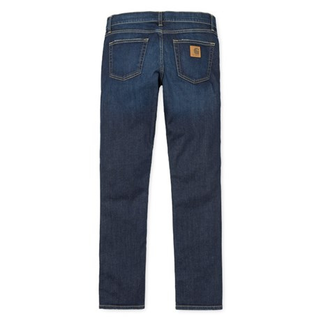 CARHARTT REBEL PANT SPICER BLUE DEEP COAST WASHED 3