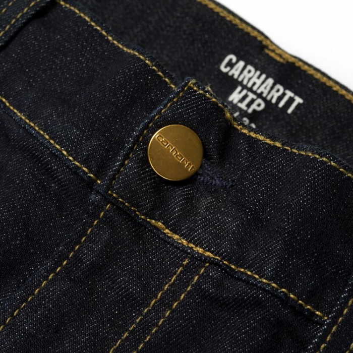 CARHARTT REBEL PANT SPICER BLUE ONE WASH 2